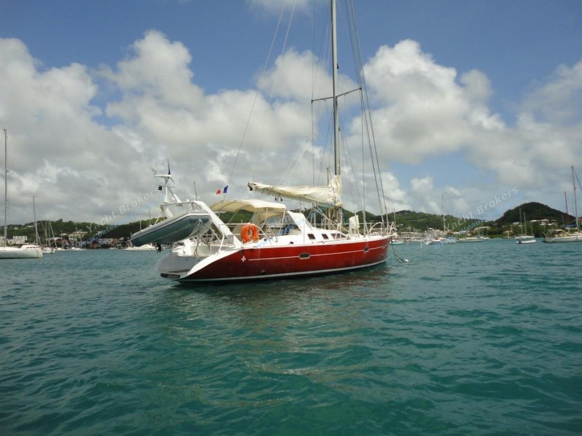Passoa 46 : Mouillage en Martinique